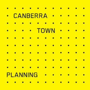 Canberra Town Planners logo in yellow and black