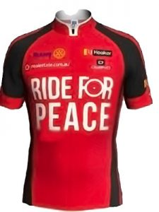 2018 Ride for peace jacket in red
